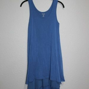 Kensie Boho Layered Sleeveless Tank Dress XS EUC